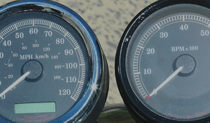 Two Motorcycle Gauges